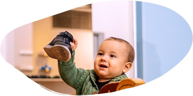 Dětské poradenství obuvi