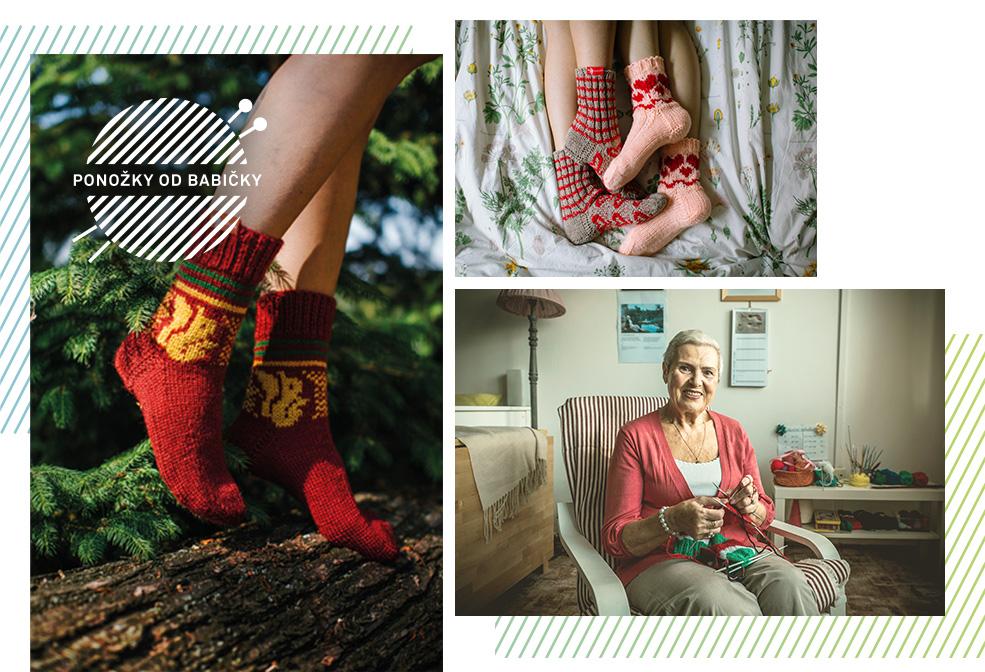 Ponožky od babičky