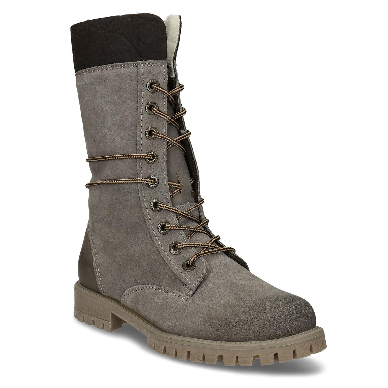 Dámska zimná obuv šnurovacia