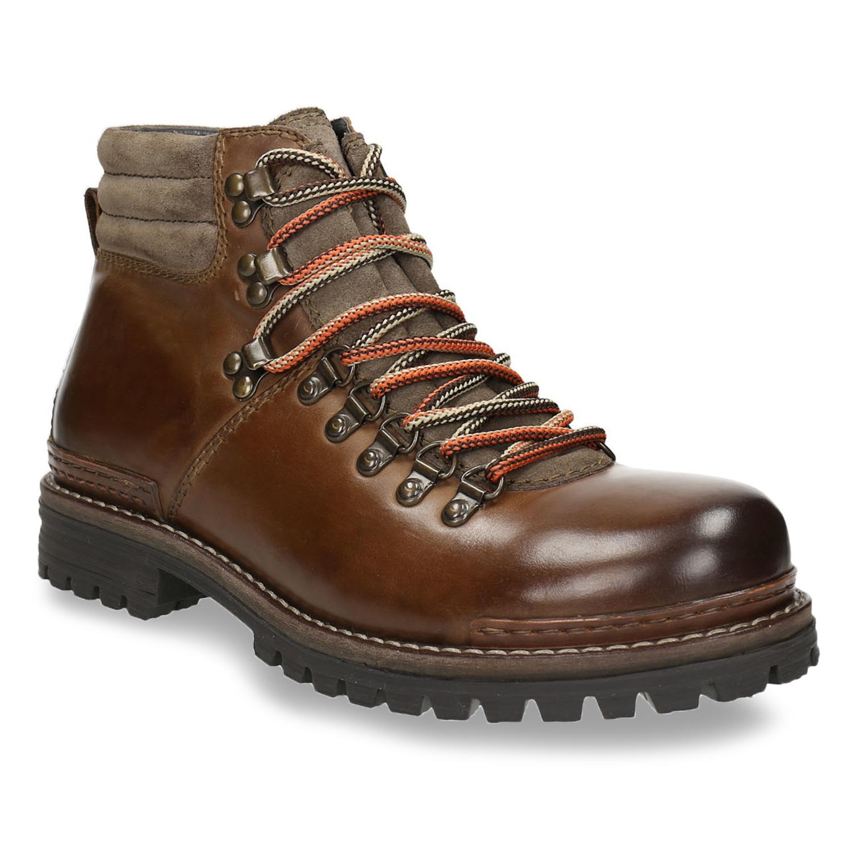 Kožená zimní obuv pánská