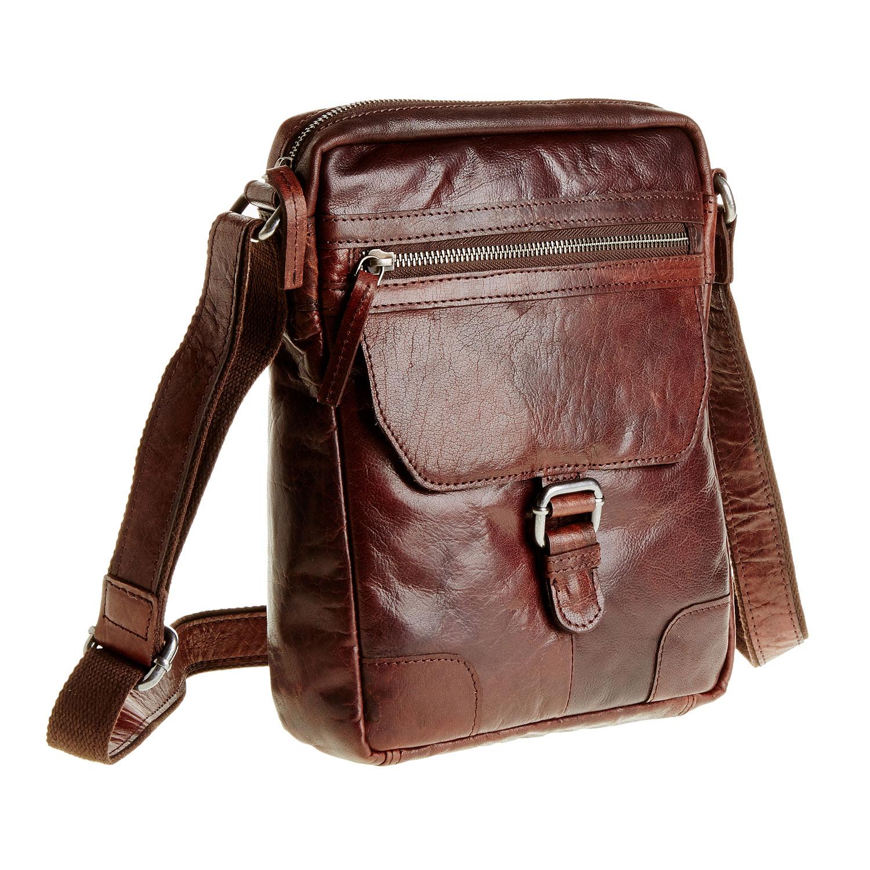 Pánska kožená Crossbody taška