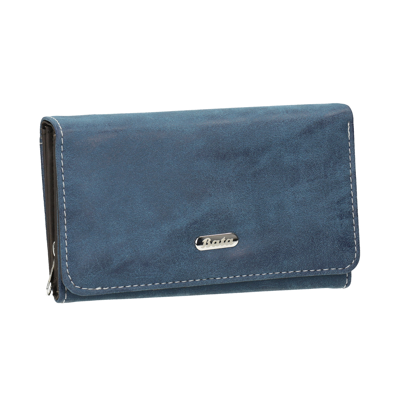 Dámska modrá peňaženka