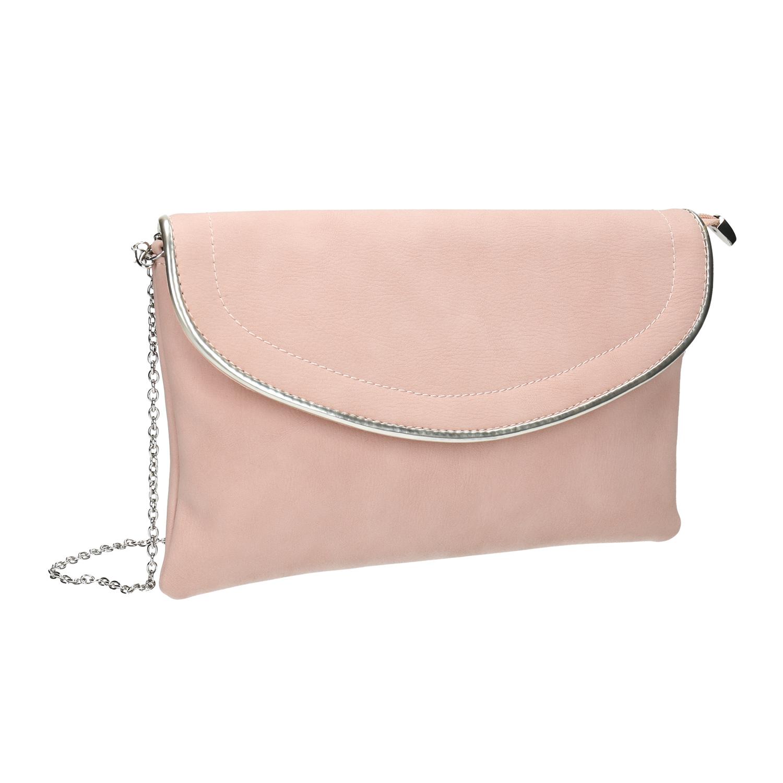 Ružová listová kabelka