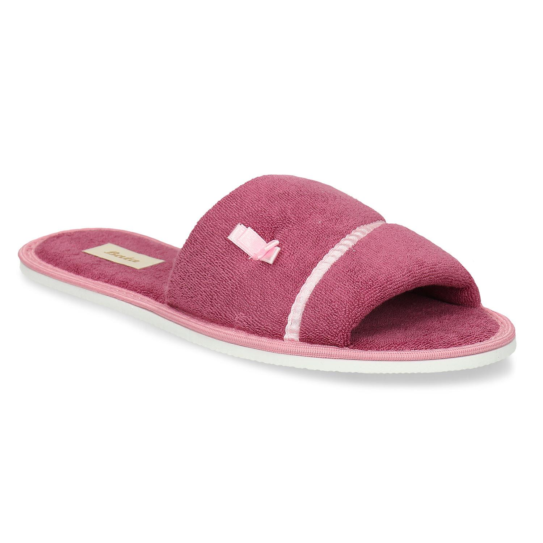 Dámske papuče s mašličkou