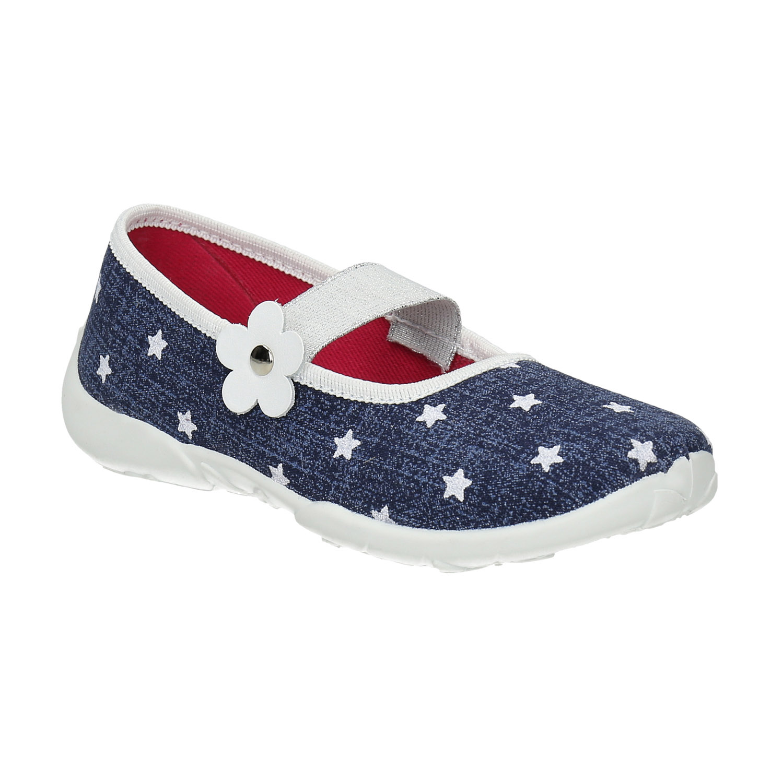 Domácí pantofle s hvězdičkami