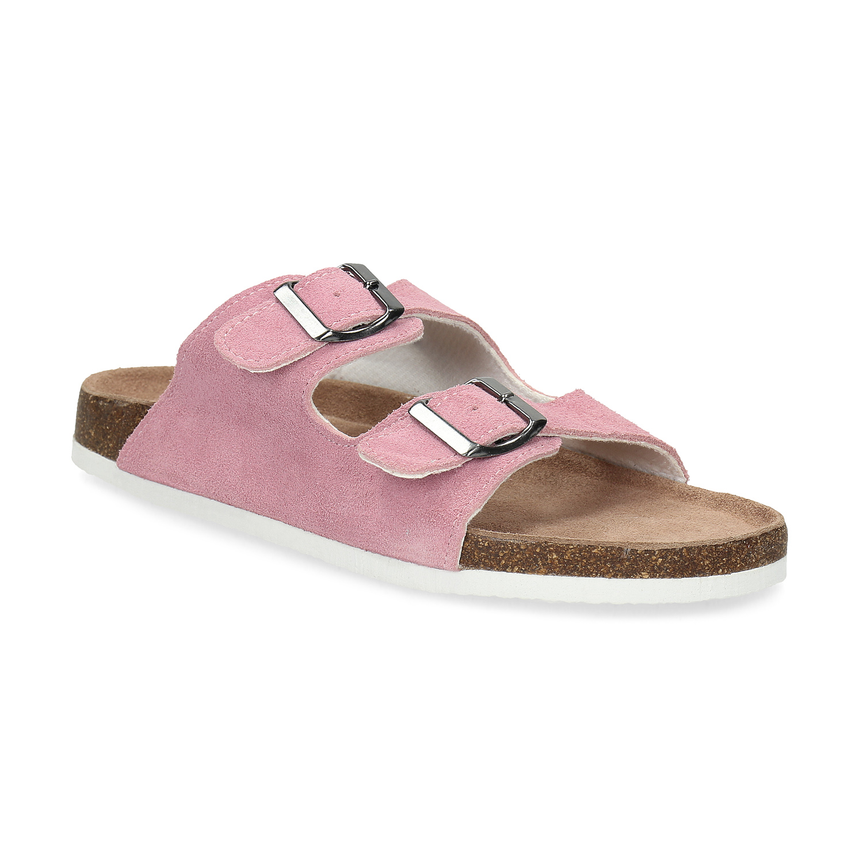Kožená domácí obuv dámská
