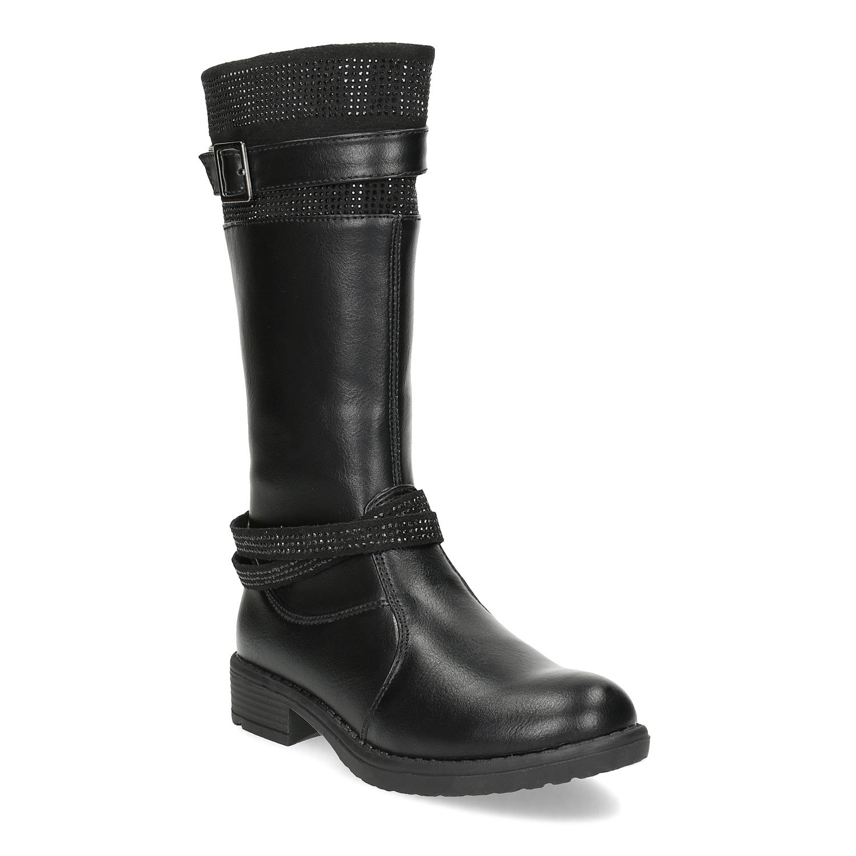 75e5c5c4d380 Top or cierne sandalky na podpatku