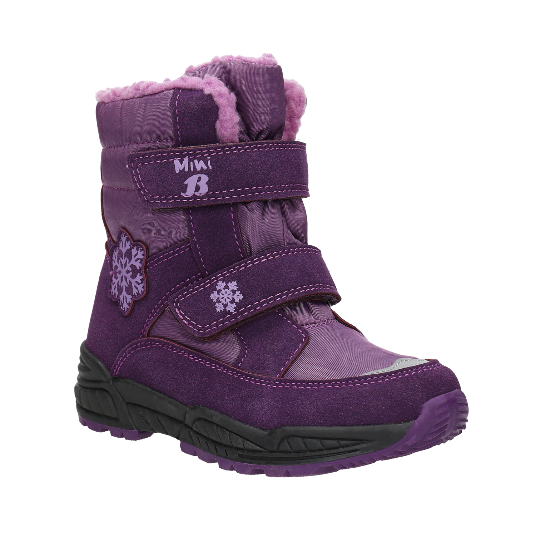 Dívčí fialové sněhule