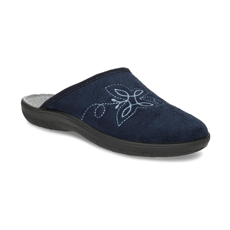 Dámská domácí obuv modrá