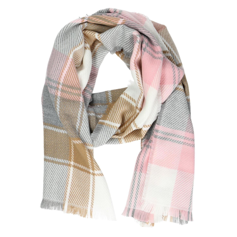 Dámský šátek s károvaným vzorem