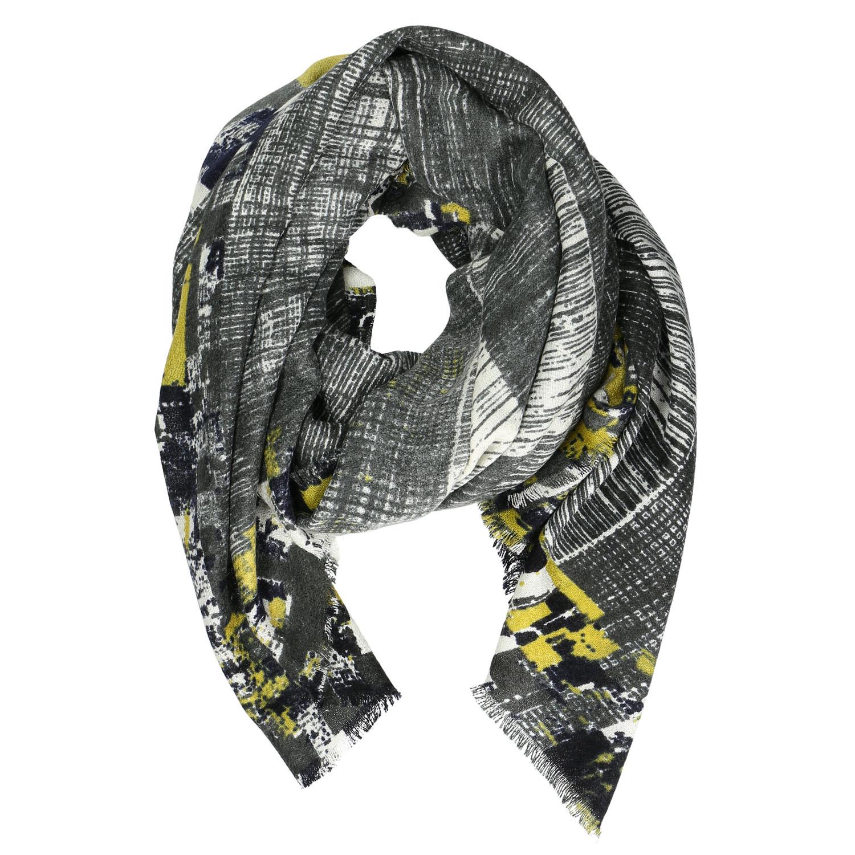 Dámský šátek se žíháním