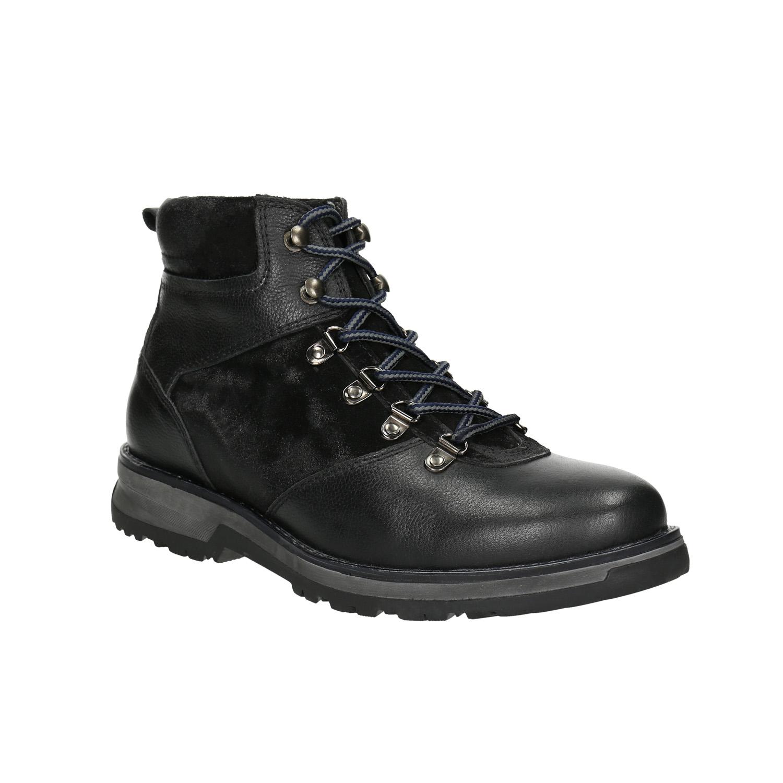 Pánská zimní obuv s výraznou podešví