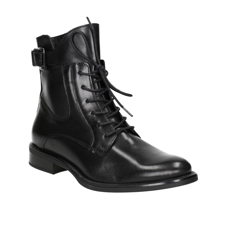 Kožená dámská kotníčková obuv 2a426d20c3
