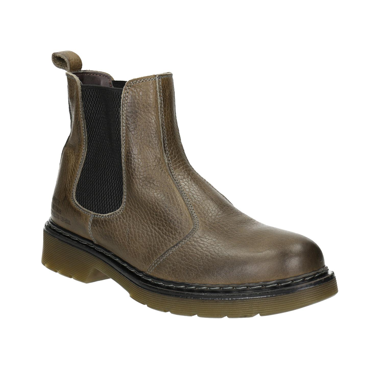 Dámská kožená Chelsea obuv
