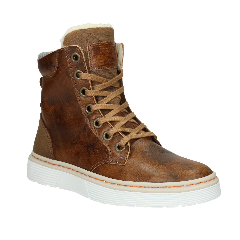 Damska obuv zimni fialova  009c3cda52
