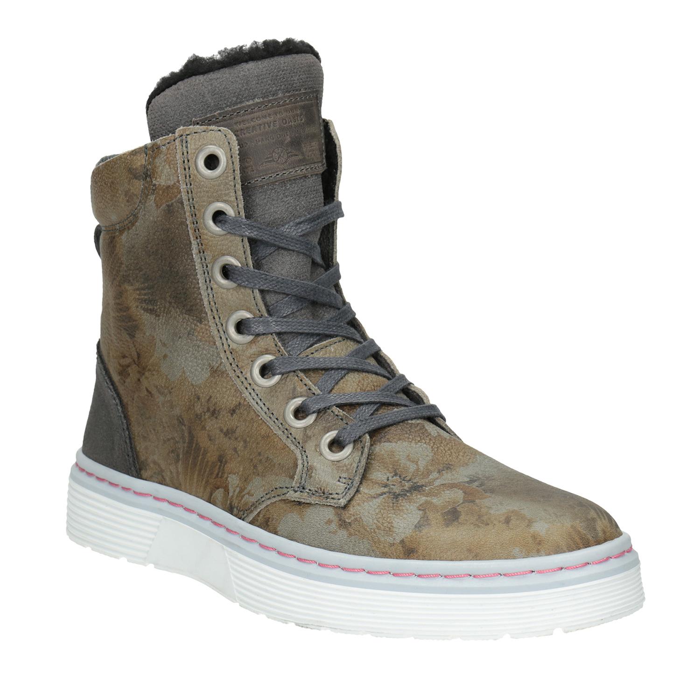 Dámská zimní obuv se zateplením