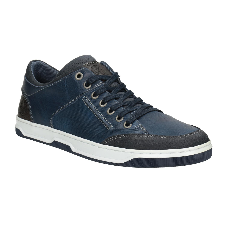 082927d53 Panske kozene boty v modre barve levně | Blesk zboží