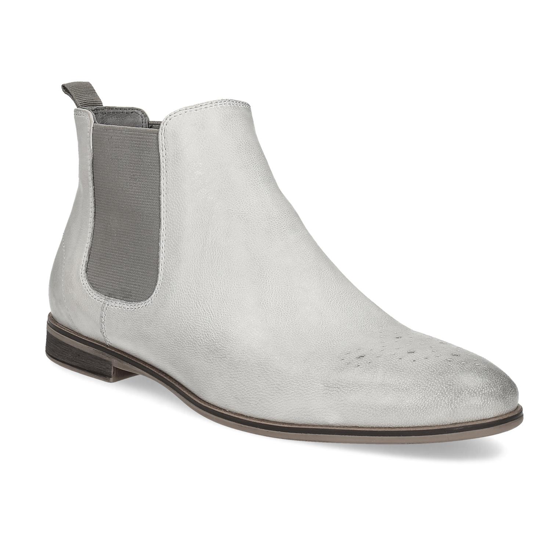Kožená dámska Chelsea obuv