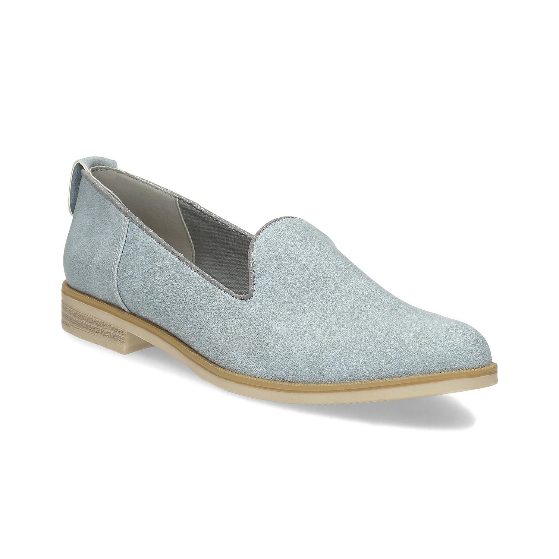 Kožená dámská Loafers obuv 3bdc7676d83