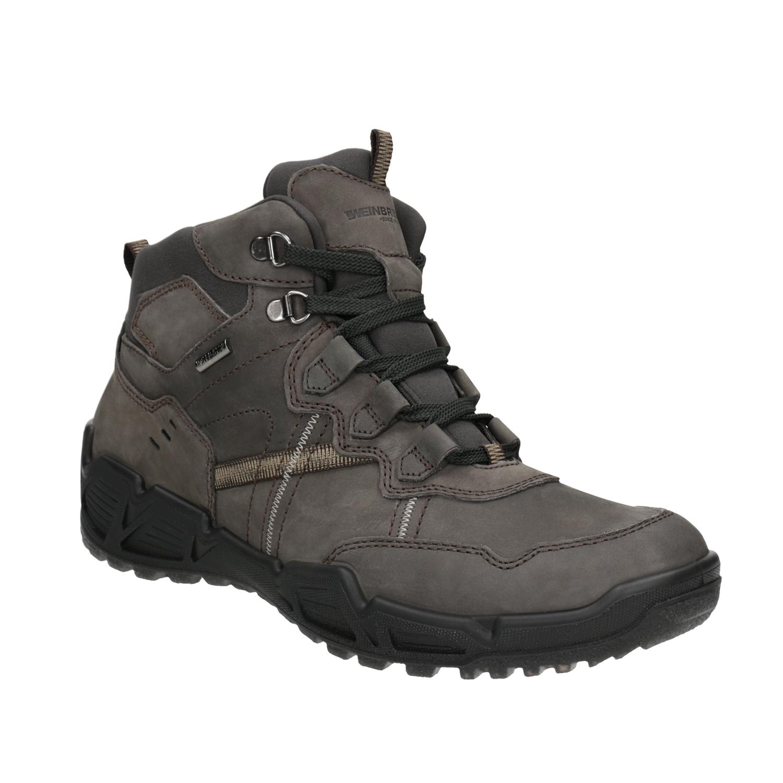 Kožená obuv v Outdoor stylu