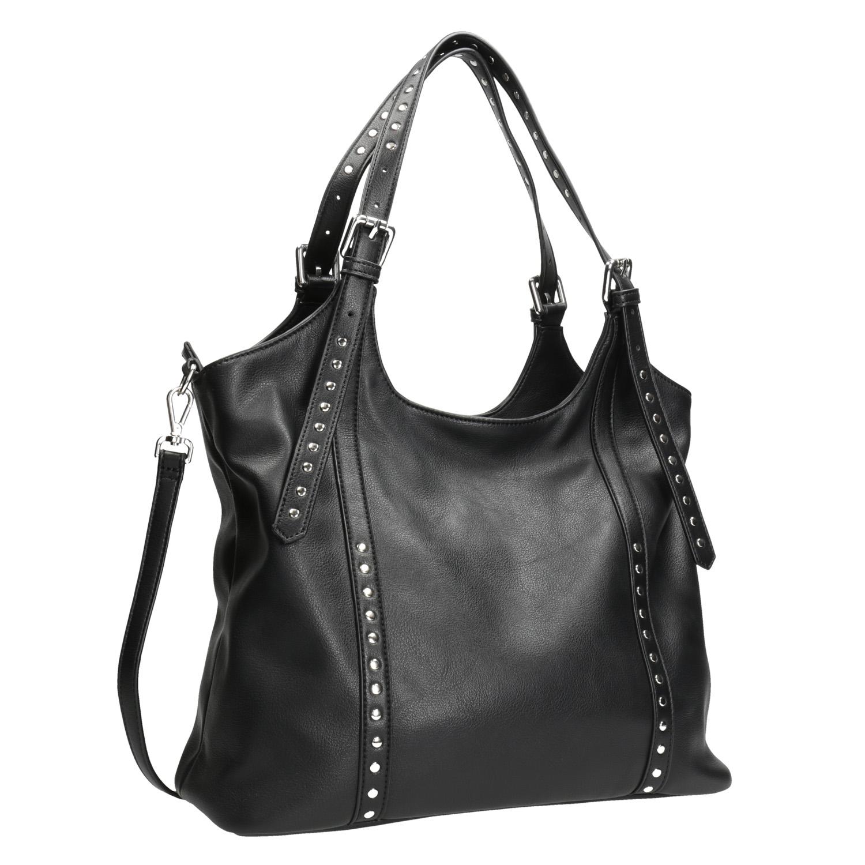Černá kabelka s odnímatelným popruhem