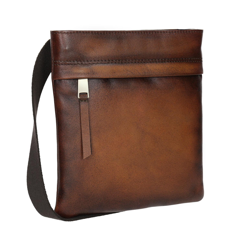 Kožená pánska Crossbody taška