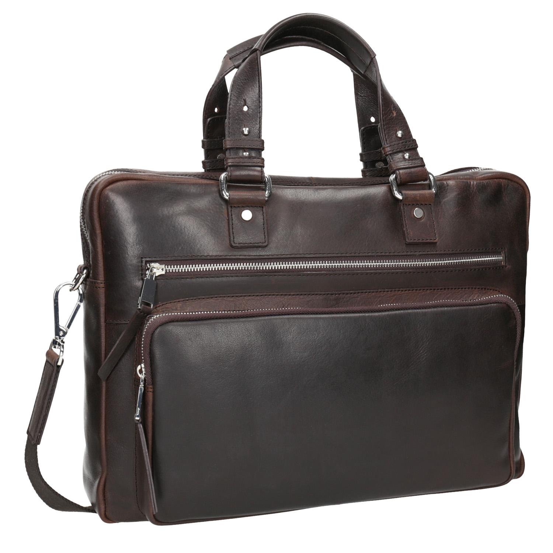 Pánská kožená taška na dokumenty