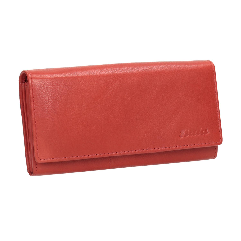 Dámska červená peňaženka z kože