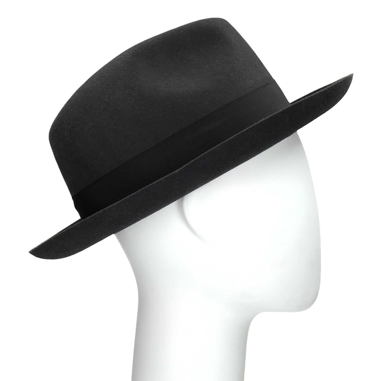 Čierny pánsky klobúk 050d20e39b