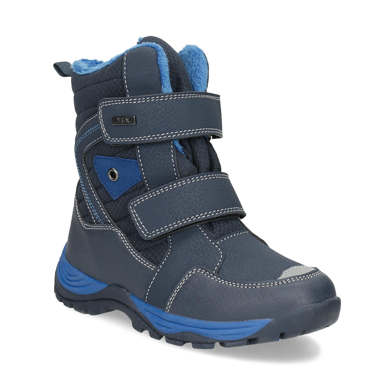 Detská zimná obuv na suchý zips