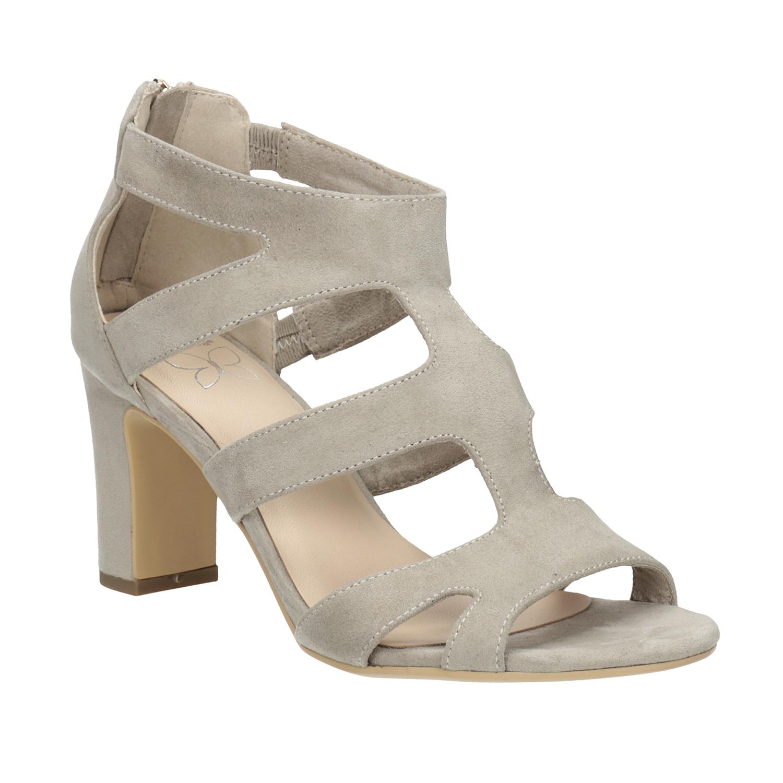 Sandály na stabilním podpatku