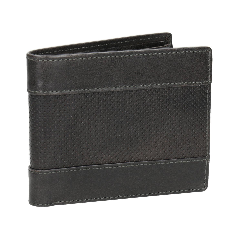 Kožená pánská peněženka s perforací