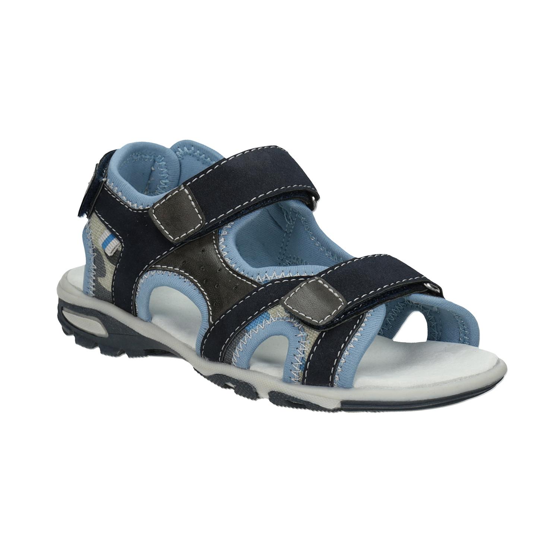 Chlapecké sandály na suchý zip modré