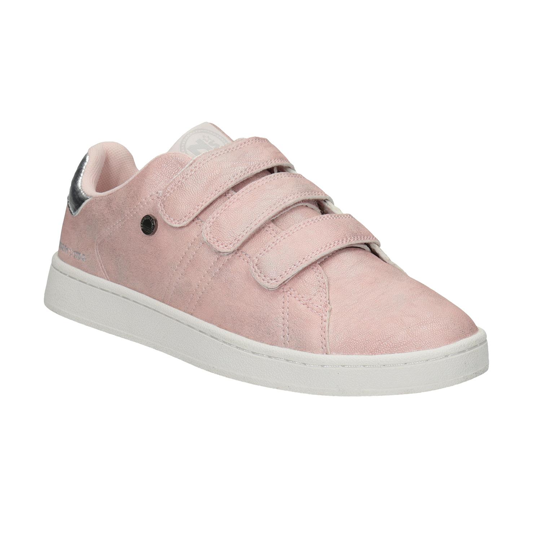 Růžové dámské ležérní tenisky