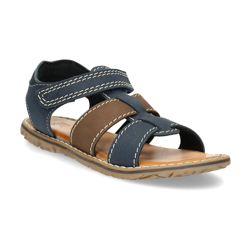 Chlapecké sandály z kůže