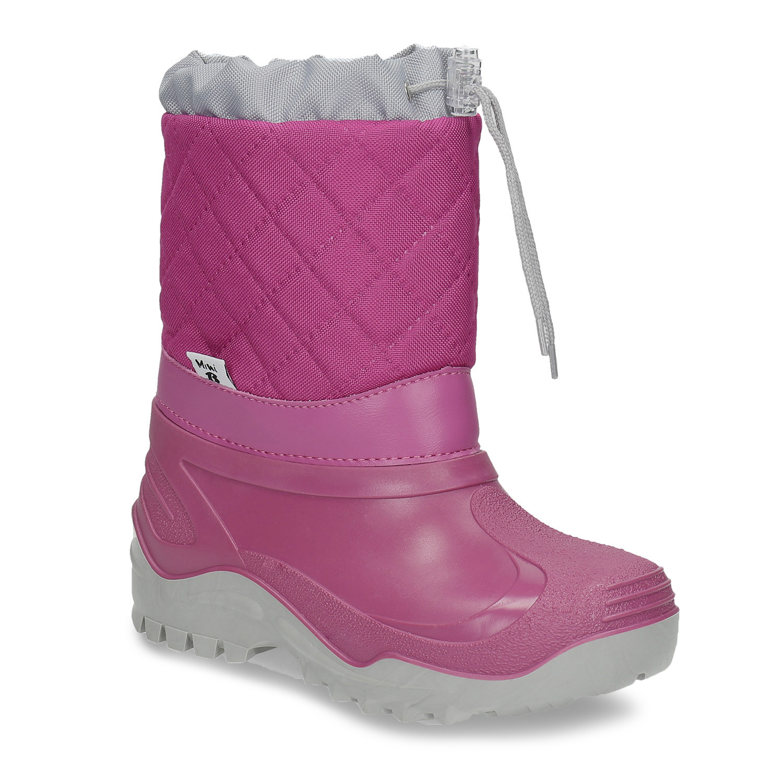 Dívčí růžové sněhule