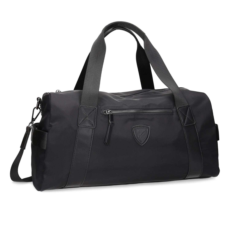 Černá cestovní taška s popruhem