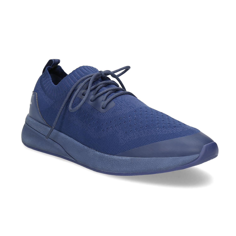 Pánské úpletové tenisky modré