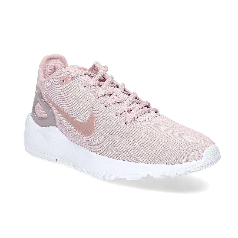 Růžové dámské tenisky sportovního střihu