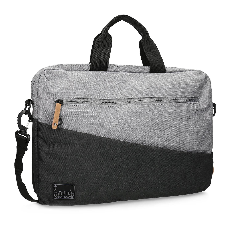 Šedá taška na notebook