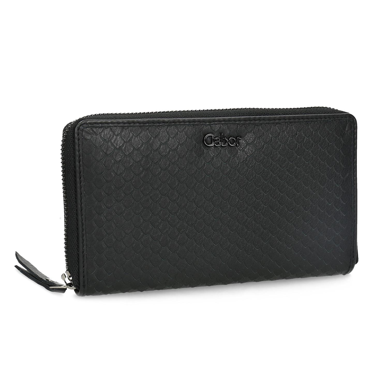 Kožená dámska peňaženka so šupinami