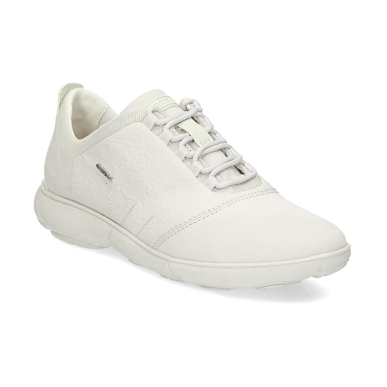 Dámské kožené bílé tenisky