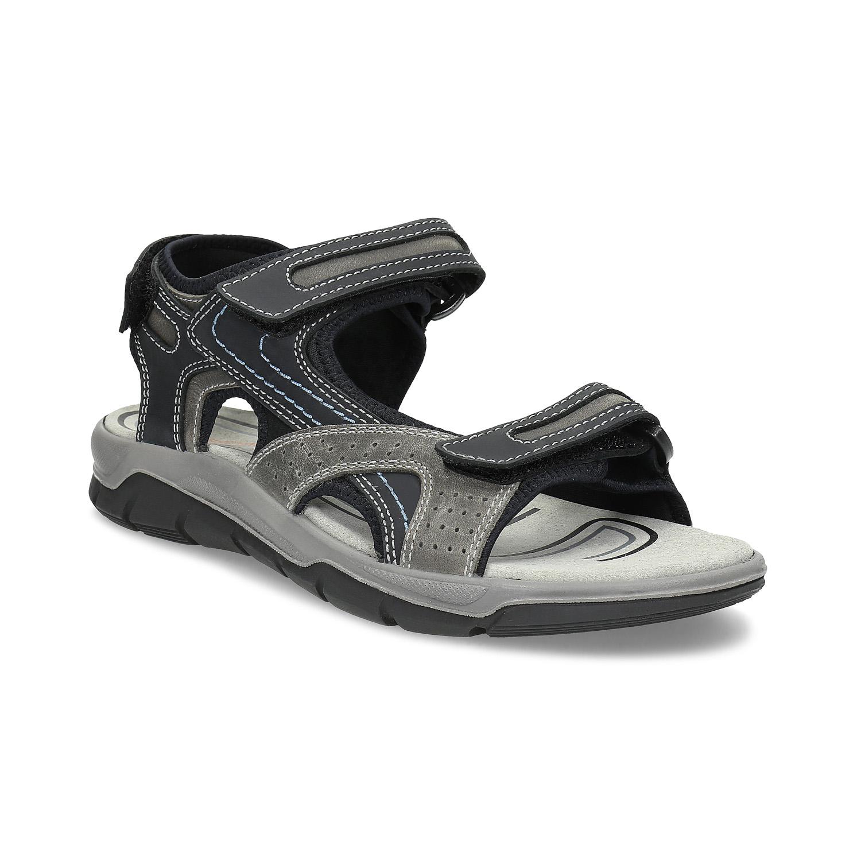 Pánské kožené sandály na suché zipy