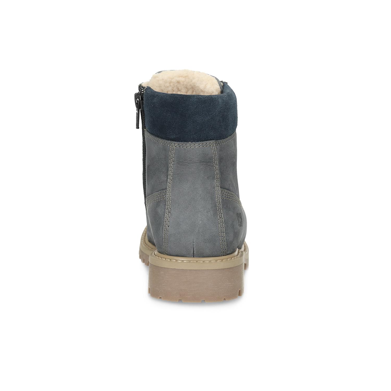 Kožená dětská kotníčková obuv Kožená dětská kotníčková obuv ... 07915532cf