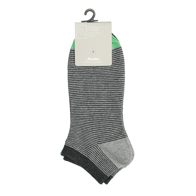 Pruhované členkové ponožky pánske