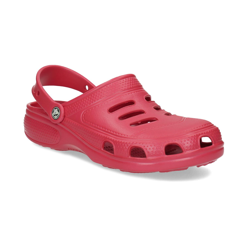 Pánské červené sandály typu Clogs