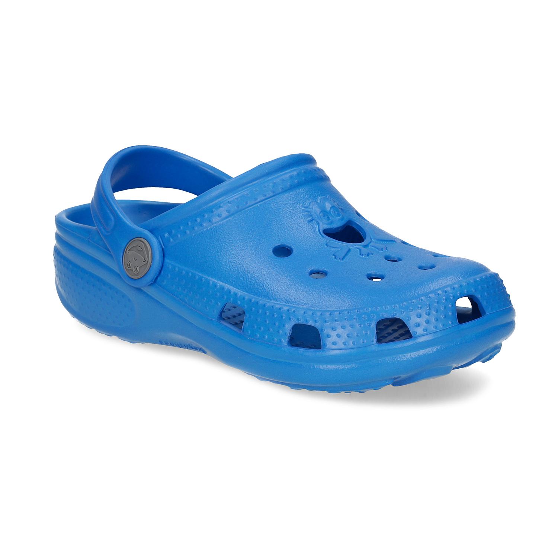 Modré dětské sandály s žabičkou 16c82d177b