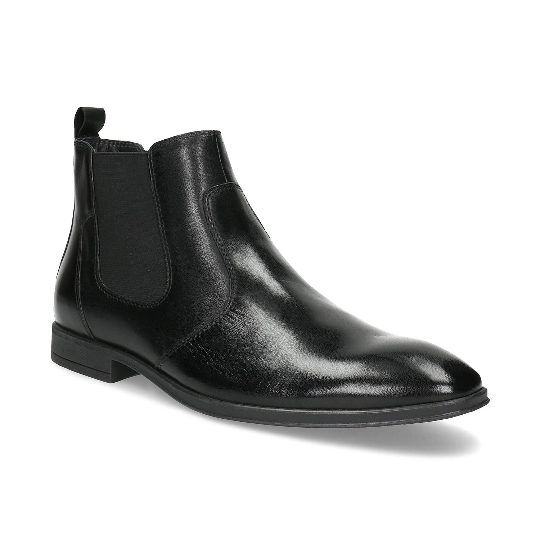 Kožená pánska členková Chelsea obuv