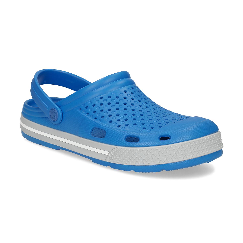 Pánské sandály typu Clogs modré