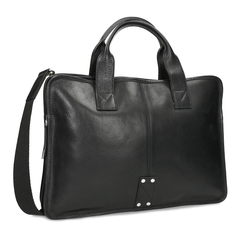 Pánská kožená taška s popruhem